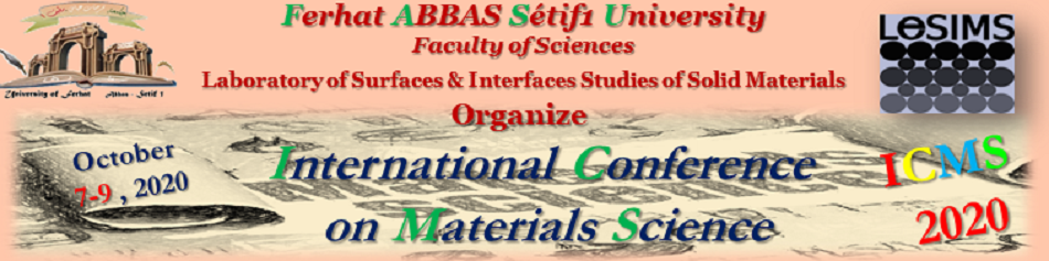 International Conference on Materials Science ICMS2020