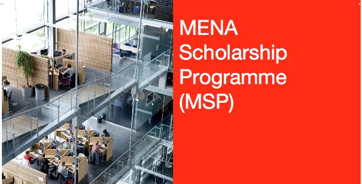 برنامج المنح الدراسية للشرق الأوسط و شمال إفريقيا MENA Scholarship Programme
